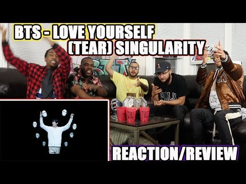 BTS (방탄소년단) LOVE YOURSELF 轉 Tear 'Singularity' Comeback Trailer REACTION/REVIEW