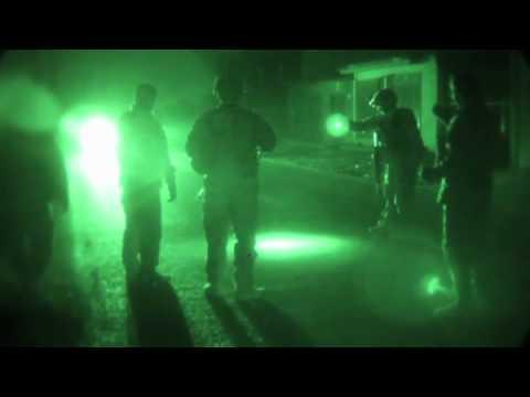 Military Police Night Patrol in Parwan, Afghanistan