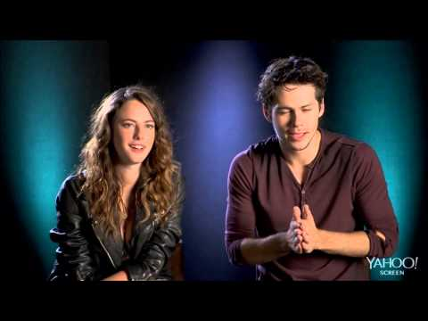 """Know your co-star"" with Kaya Scodelario and Dylan O'Brien VOSTFR - The Maze Runner France"