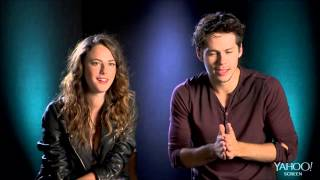"""Know your co-star"" with Kaya Scodelario and Dylan O"