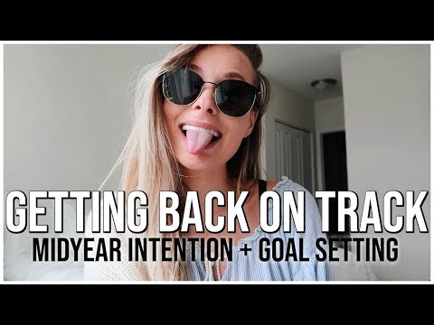 GETTING BACK ON TRACK  Setting Midyear Intentions and Goals  Renee Amberg
