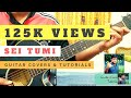 Shei Tumi | Guitar Chords, Intro Plucking, Lead Tutorial | Ayub Bacchu | LRB