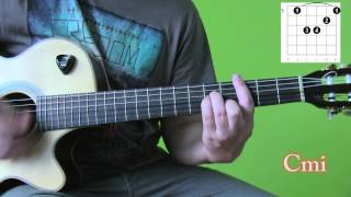 James Arthur - Smoke clouds - guitar tutorial