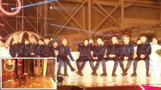 Download Video 161119 EXO & SEVENTEEN reaction to BTS - Blood Sweat Tears,FIRE @MMA2016 MP3 3GP MP4