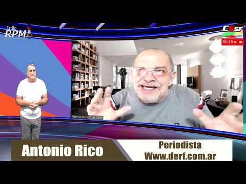 Antonio Rico: Virus