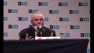 Bo Ryan Press Conference - Big Ten Media Day 2014