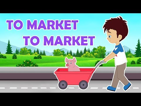 To Market To Market Nursery Rhyme    Popular Nursery Rhymes With Max And Louie