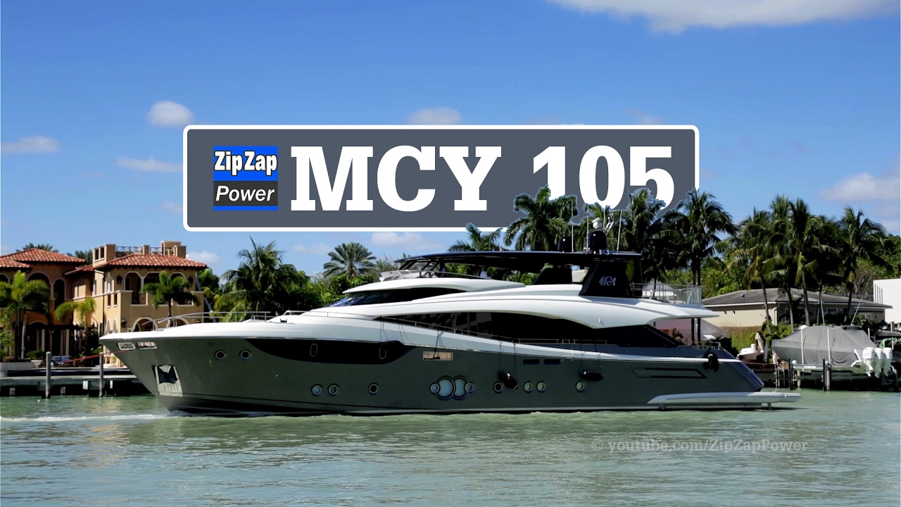 Mcy 105 And 2 Little Sisters Arriving At Yachts Miami Beach