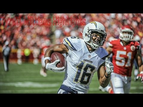 Tyrell Williams Highlights