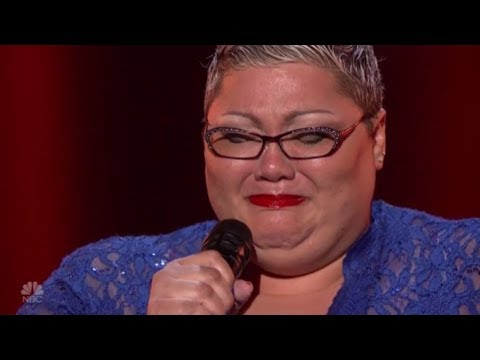 Christina Wells: BREAKS OUT In Tears After Emotional Performance | America's Got Talent 2018