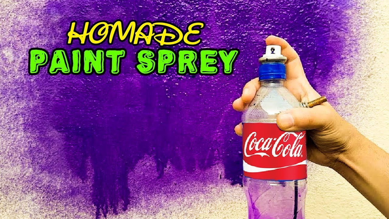 Diy Spray Paint How To Make An Air Spray Paint At Home
