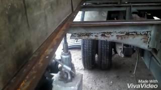 как сделать пол в фургоне