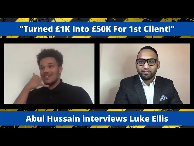Turned £1K into £50K for his 1st Client! | SMMA Success Interview