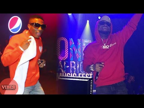 Wizkid Calls Out Davido To Perform On Stage For…