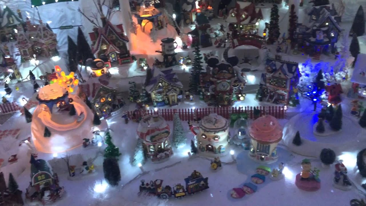 2015 North Pole Christmas Village - YouTube
