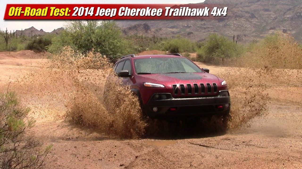 Jeep Brush Guard >> Off-Road Test: 2014 Jeep Cherokee Trailhawk 4x4 - YouTube