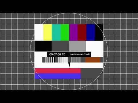 HD Testbild 1 khz Testton