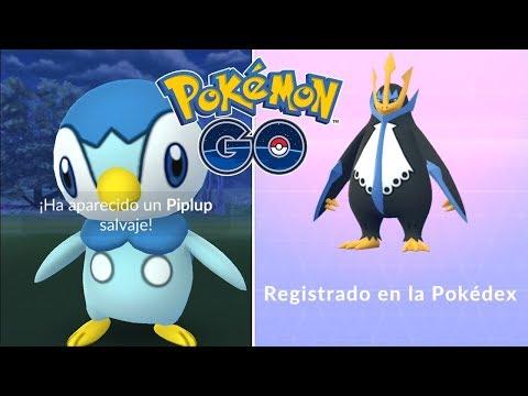 REGISTRO EN LA POKEDEX DE EMPOLEON EN EL NIDO PIPLUP! [Pokémon GO-davidpetit]