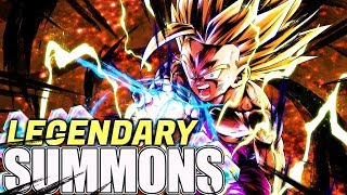 WHAT IS LEGENDS DOING!? LEGENDARY FINISH GOHAN PREMIUM SUMMONS! Dragon Ball Legends