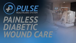 HBOT is a painless, touchless, and noninvasive wound care procedure that may prevent amputations.