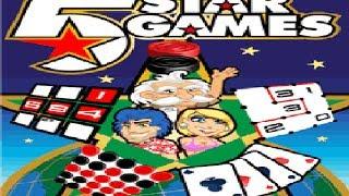 5 Star Games Java (Dama - Sudoku - Solitaria - 5 em linha - Slitherlink)