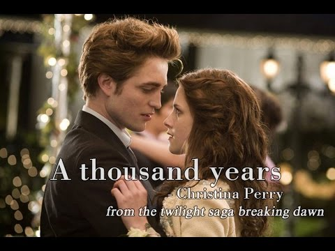 [Lyrics] A thousand years - Christina Perri