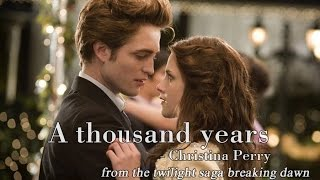 Baixar [Lyrics + Vietsub] A thousand years - Chirstina Perri