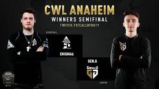 Enigma6 vs Gen.G   CWL Anaheim 2019   Day 2