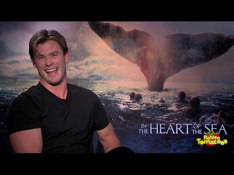 In the Heart of the Sea : Chris Hemsworth, Benjamin Walker, Tom Holland, and Ron Howard