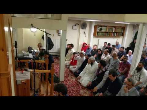 Taraweeh prayers from the University of Newcastle mosque