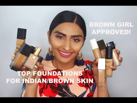 Top 10 Foundations for Indian/Brown Skin!