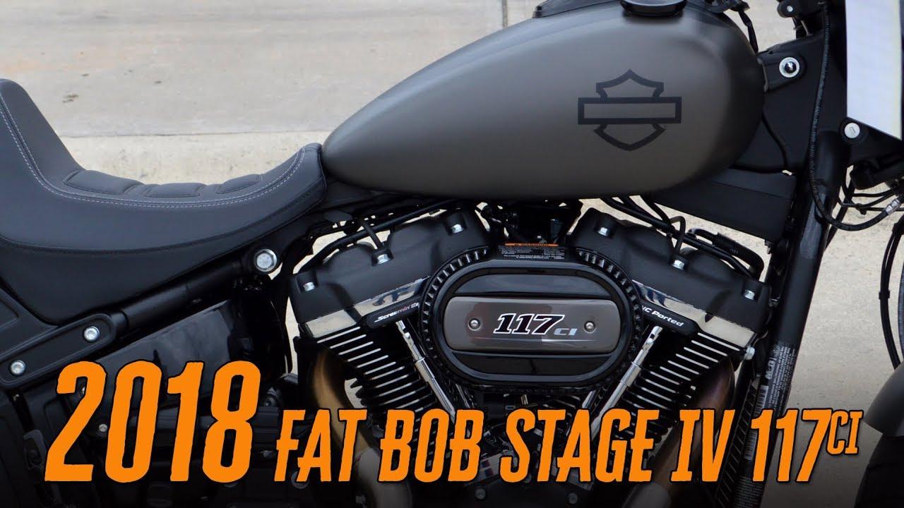 2018 Harley-Davidson FXFBS Fat Bob Stage IV 117ci Greensboro,  Winston-Salem, Raleigh, Charlotte