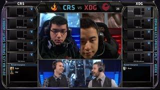 Curse vs XDG | 2014 NA LCS Spring split Season 4 W1D2 G1 | XDG vs Curse full game HD