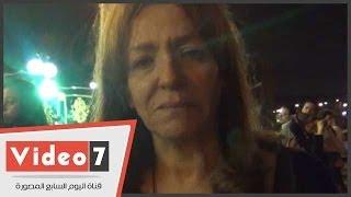 بالفيديو..عزة بلبع تبكى على «فؤاد نجم» وتصفه بـ«جيفارا مصر»