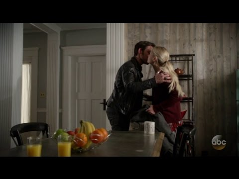 All Captain Swan kisses through 0606 - Dark Waters