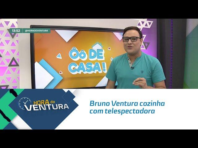 Ô de Casa: Bruno Ventura vai até o centro de Maceió para cozinhar com telespectadora - Bloco 01