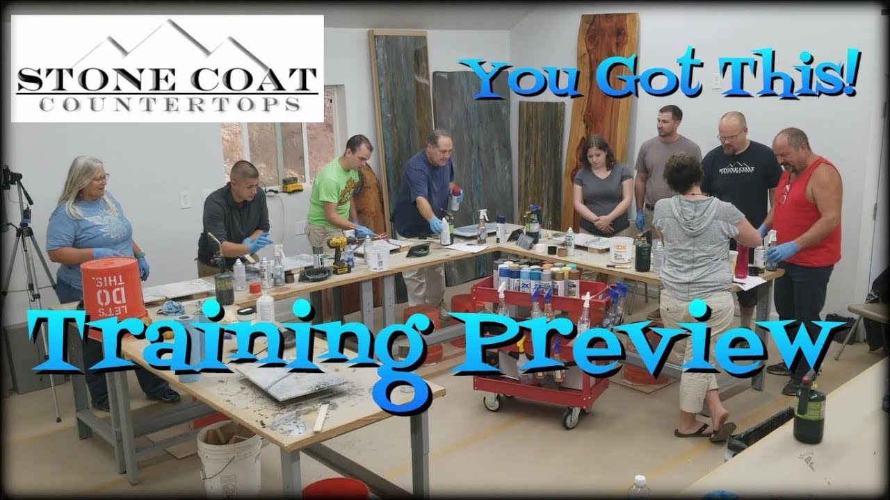 Live Training Class Preview Stone Coat Countertops