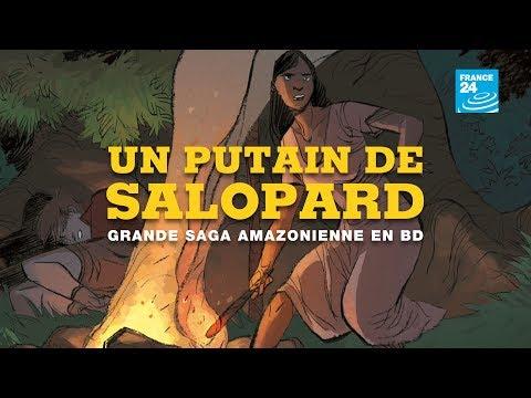 """""""Un putain de salopard"""", grande saga amazonienne en BD"""
