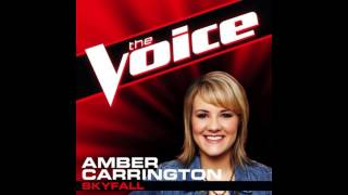"Amber Carrington: ""Skyfall"" - The Voice (Studio Version)"