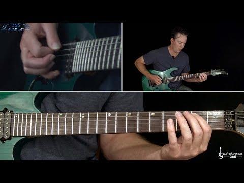 Metallica - Disposable Heroes Guitar Lesson (Full Song)