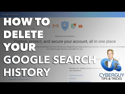 How to Delete Your Google Search History