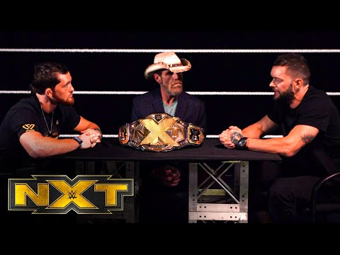 Finn Bálor goes face to face with Kyle O'Reilly: WWE NXT, Sept. 30, 2020