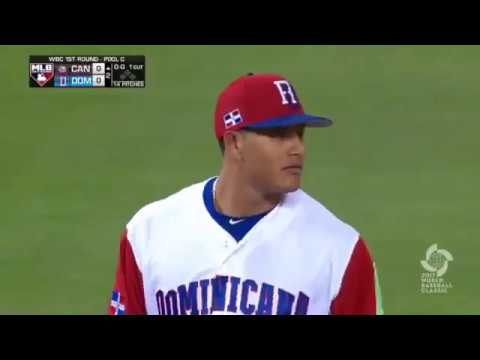 WBC 2017 - Manny Machado Poetry in Motion Dominican Republic