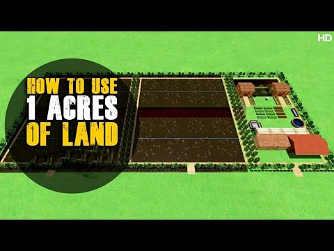 How To Use 1 Acres of Land - Planning   How to Use Agricultural Land   3 D Design