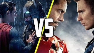 Batman v Superman v Captain America: Civil War - Why One Worked and One Didn't - SCENE FIGHTS!