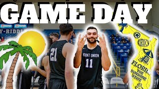 INTENSE GAME DAY Vlog In Florida With A College Basketball Team?!