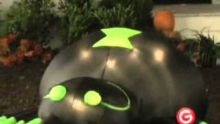 Animated Airblown Spider With Moving Head Inflatable Halloween Yard Decoration Decor Prop