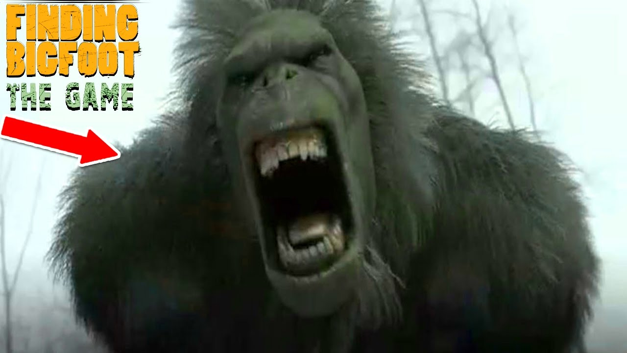 finding bigfoot the game quothes watching usquot scary youtube