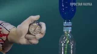 как сделать часы из бутылки