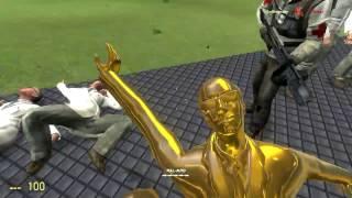 Обзоры Модов Garry's Mod 13.#33.Настраиваемое оружие из Team Fortress 2!Часть 2